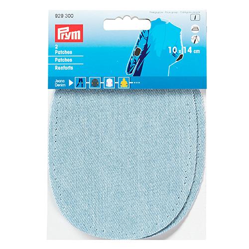 929300 Заплатки термоклеевые джинсовые 10*14см, 2шт, голубой цв. Prym