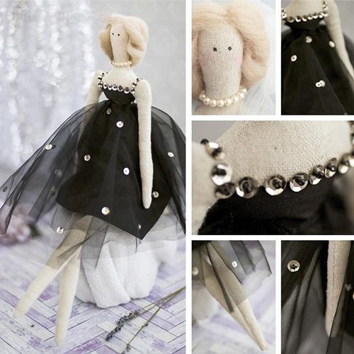 2278771 Набор для шитья 'Мягкая кукла Жаклин', 18 х22 х3,6 см