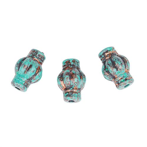 4860 Бусины декоративные, 19*12 мм, упак./3 шт., 'Астра'