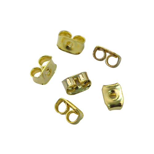 HDES001-B Фиксатор для серег, 6.5*4.5 мм, упак./6 шт., 'Астра'