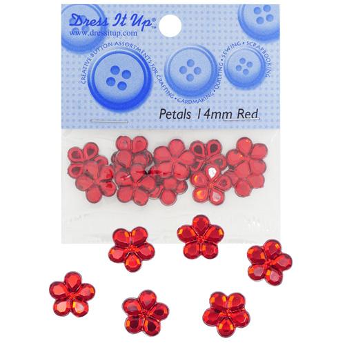 Украшение. Красные цветы, 3828 Dress it up