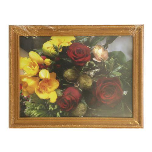3N57 Рамка деревянная со стеклом, клен, 13*18 см