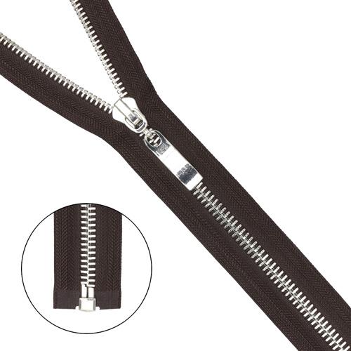 Молния металл-никель т8 1 замок 75см