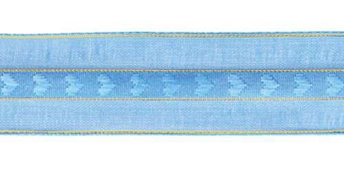 0072-0130 Лента капроновая с люрексом, 20 мм *27 м