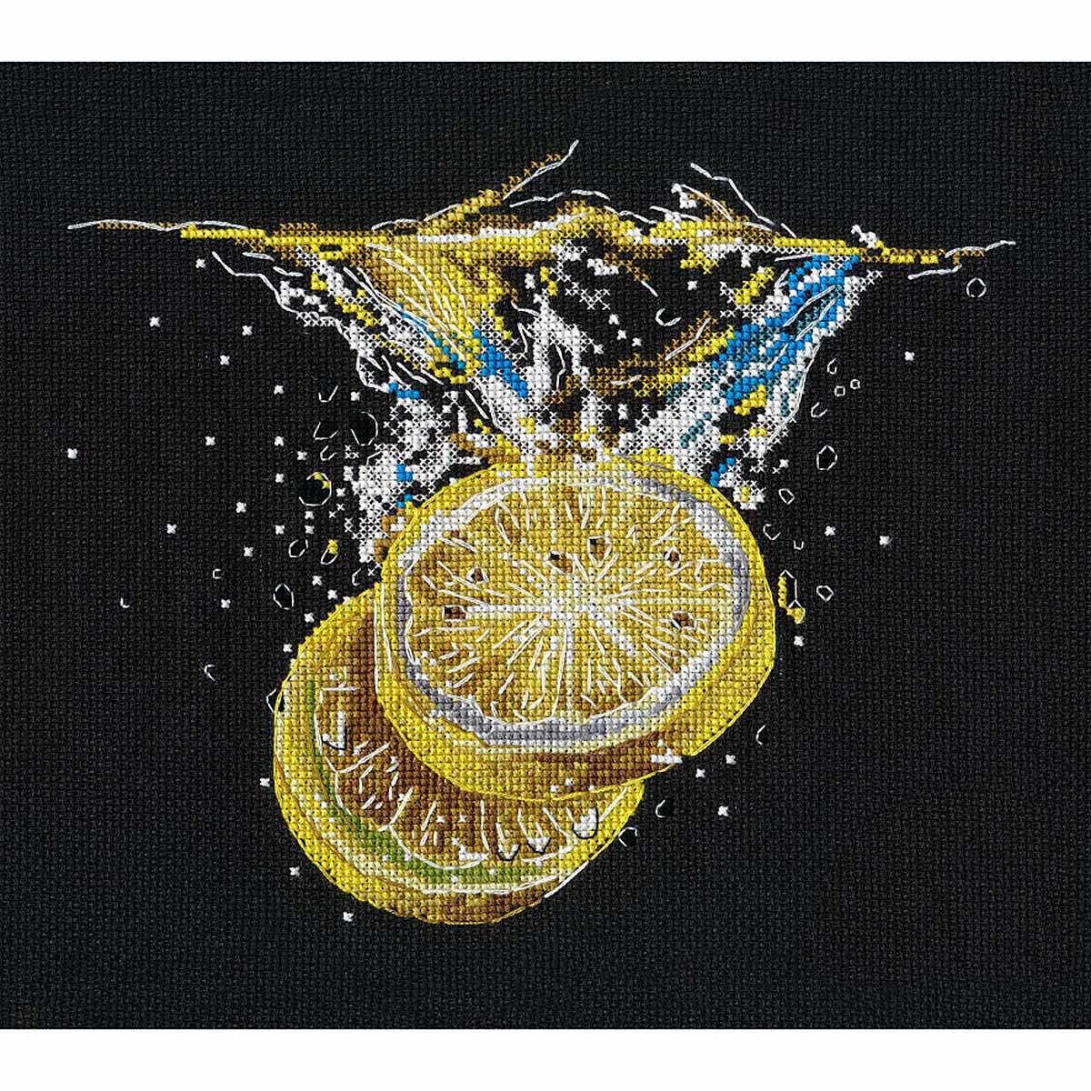 1360 Набор для вышивания ОВЕН 'Лимонный фреш'22?19см