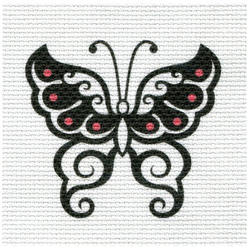 А-01 Набор для вышивания 'Бабочка' 15*16см