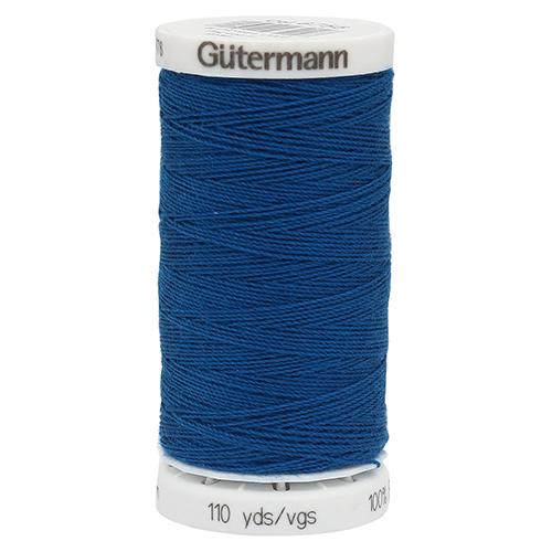 11 Нить DENIM 50 для пошива изделий из джинсовой ткани, 100% п/э 100м Гутерманн 700160