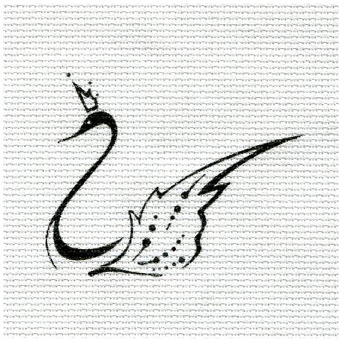 А-09 Набор для вышивания 'Лебедь' 15*16см