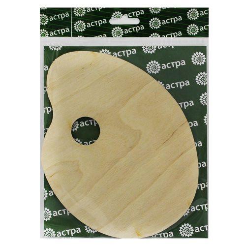 L-597 Деревянная заготовка Палитра 15*20*0,3 см Астра