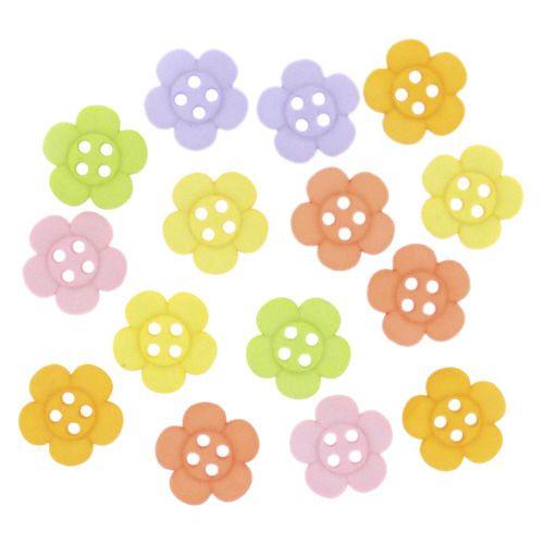 6946, Декоративные пуговицы. Цветы Dress It Up