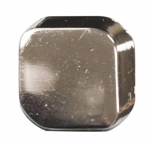 69630 Кнопка 5/22x22 никель 3D (ответная часть заказывается отдельно)