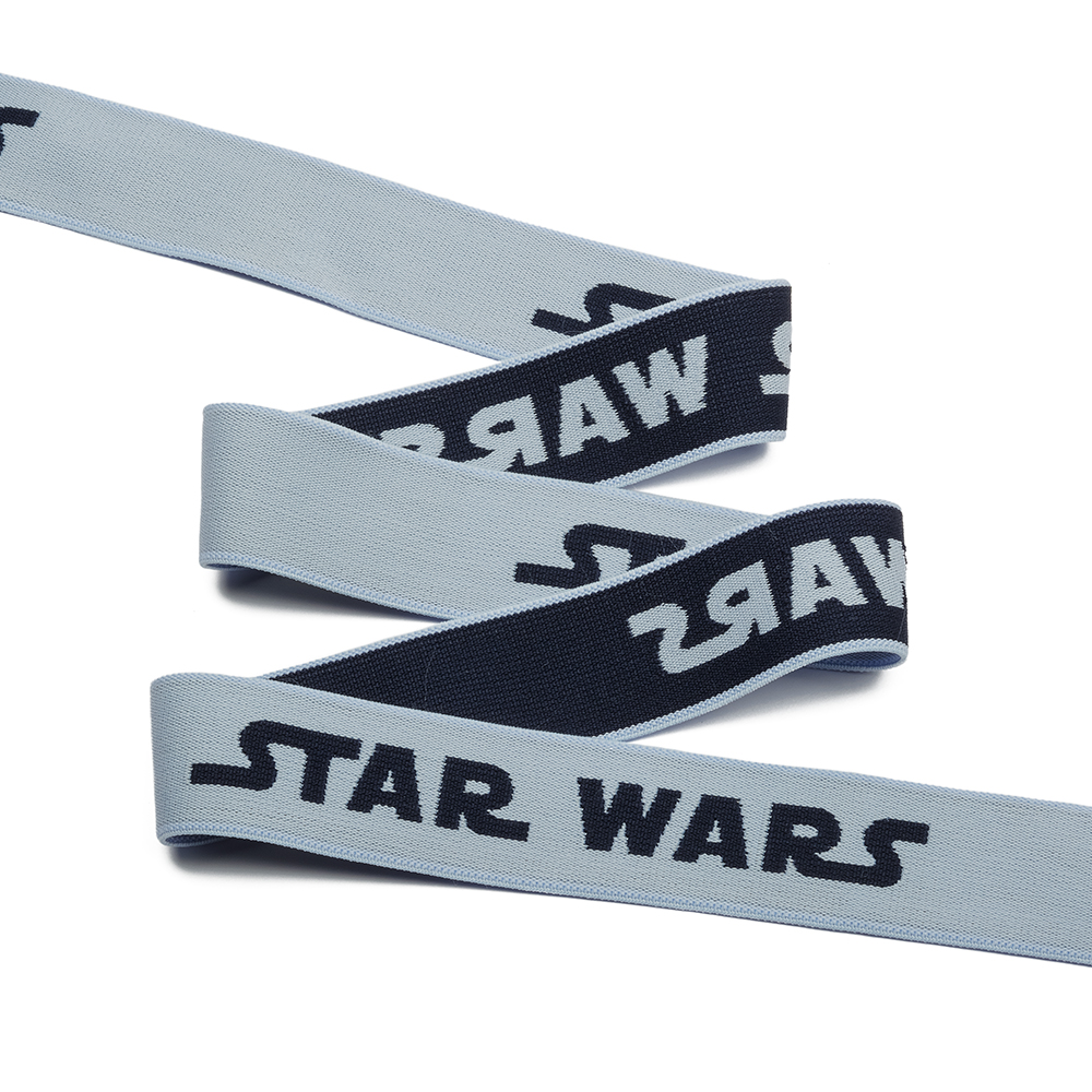 Резинка TBY тканая мягкая 30мм ET.3061 STAR WARS уп.25м, ET3061