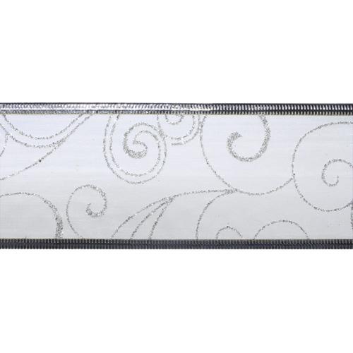 91-3024 Лента упаковочная (органза) 63 мм*10 м