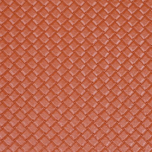 26882 Кожа искусственная DDB-03 'Плетёнка', 20*30 см., толщина 0,65 мм, в уп.- 2 листа, цв. терракот.