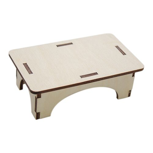 L-455 Деревянная заготовка 'Стол для кукол', 10*6*3 см, 'Астра'