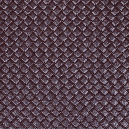 26887 Кожа искусственная DDB-08 'Плетёнка', 20*30 см., толщина 0,65 мм, в уп.- 2 листа, цв. т.коричн.
