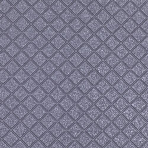 26861 Кожа искусственная DDV-05 'Ромб', 20*30 см., толщина 0,85 мм, в уп.- 2 листа, цв. серый