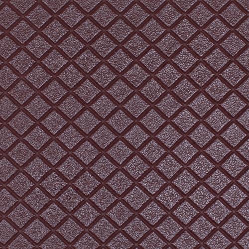 26863 Кожа искусственная DDV-07 'Ромб', 20*30 см., толщина 0,85 мм, в уп.- 2 листа, цв. т.коричн.