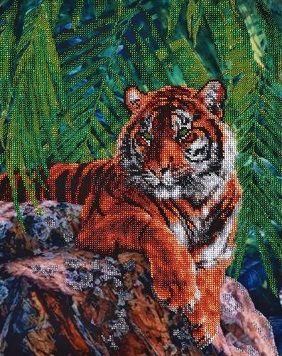 БН-3052 Набор для вышивания бисером Hobby&Pro 'Тигр', 31*40 см
