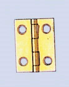 61832201 Шарнир 12x16мм 4 шт/ 8 шурупов Glorex