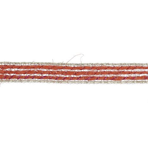 1AS-099 Лента отделочная с люрексом 6мм*10м