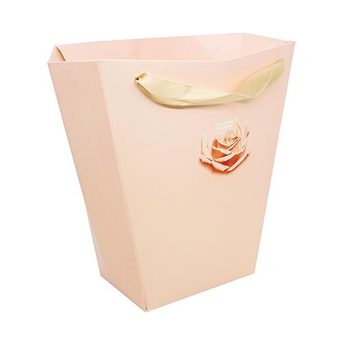 3090149 Пакет для цветов трапеция «Чайная роза», 10см*23 см*23 см