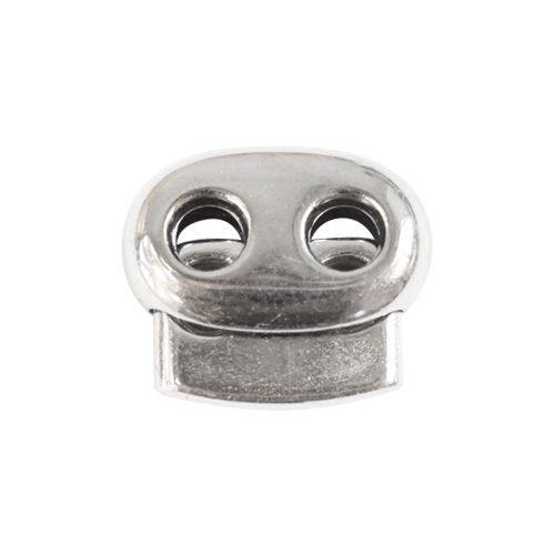 0305-3032 Стопор плоский 2отв. d=5мм, 23*20мм, пластик под металл