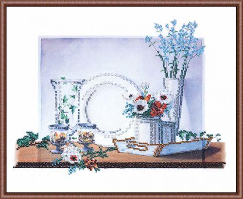 004-РТ Набор для вышивания (Натюрморт на белом 2) ОВЕН