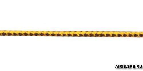 Шнур люрекс 1,5мм*100м 0371-1001
