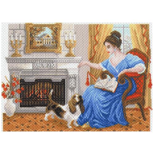 1677 Канва с рисунком Матренин посад 'Домашний уют' 37*49см