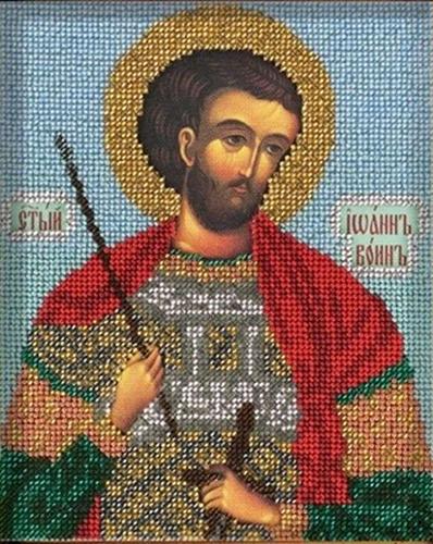 В323 Набор для вышивания бисером 'Кроше' 'Св. Иоанн', 12х14,5 см