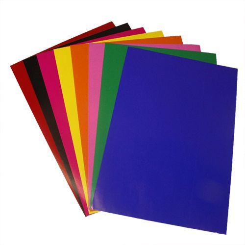 Бумага глянцевая клейкая, 200 гр, упак./8 листов