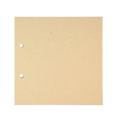 АВ001 Заготовка для фотоальбома 'Квадрат малый' без колец, 6 листов 14,7х14,7 см