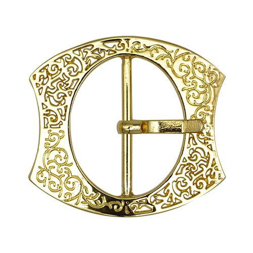 НРЮ1472 Пряжка, золото, 40 мм