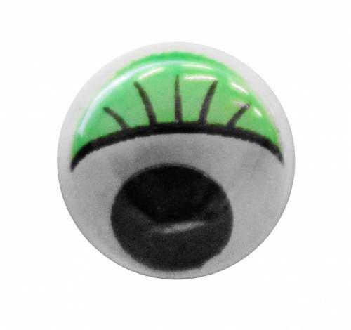 TEY-019 Глаза бегающие с цветным веком 15мм