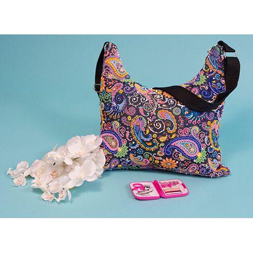8518 Набор для шитья и вышивания текстильная сумка 'Матренин Посад' 'Восток', 32,5*25,5 см