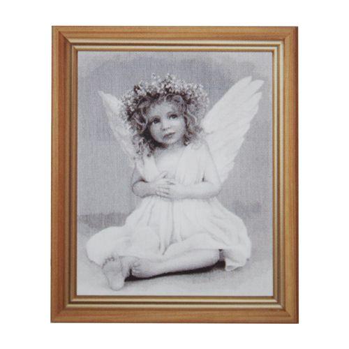 764 Набор для вышивания Hobby&Pro 'Ангелочек', 33*43 см