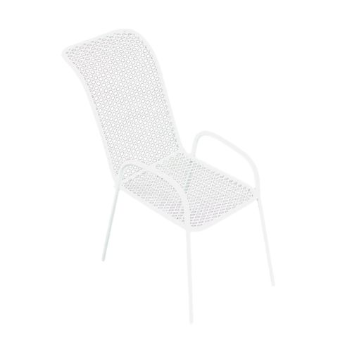 KB3249B Металлический мини стул, белый 4,5*4,5*3,5*8см Астра