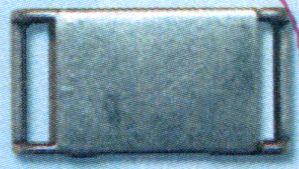 62162 Пряжка-застежка магнитная 10мм т.сереб.мет.