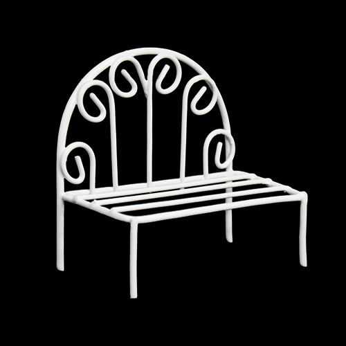KB4247 Металлический мини стул, белый 8*4*2,5*7см Астра