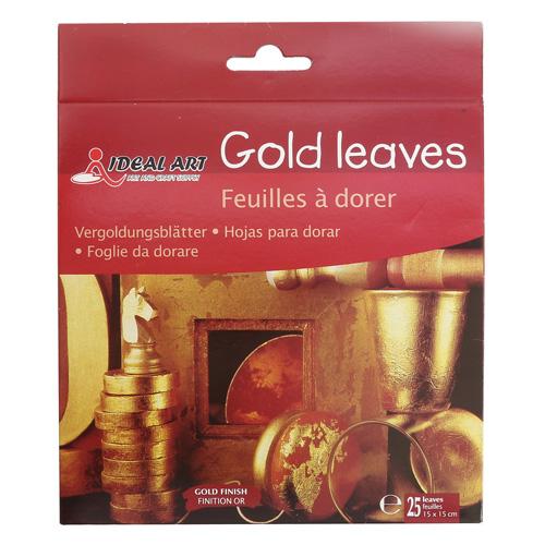 3134178 Набор Поталь 25 листов золотая 15*15см в папке