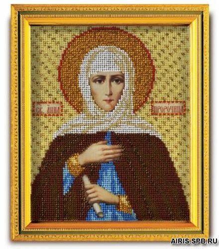 В336 Набор для вышивания бисером 'Св. Анна'