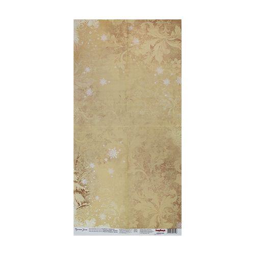 SCB501025 Карта для декупажа 'Морозные узоры', 35*70 см, Scrapberry's
