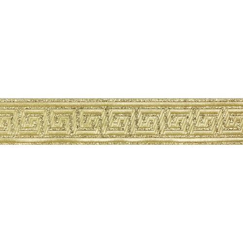 35062 Тесьма металлизированная 'Меандр' 35мм*10м