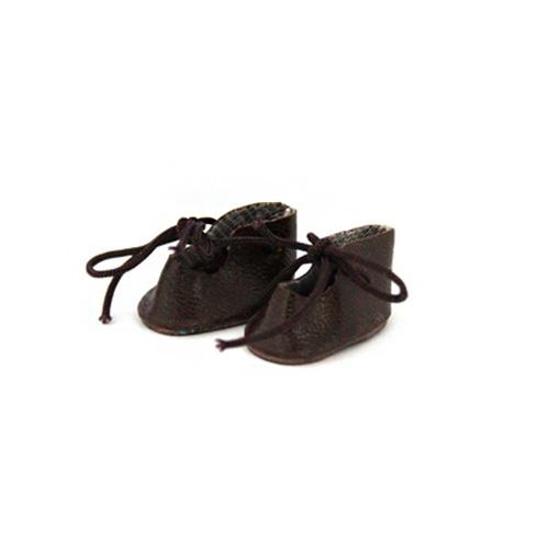 23667 Ботиночки для кукол 4,0см*2 пары, коричневые