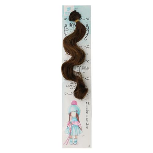 2294355 Волосы - тресс для кукол 'Кудри' длина волос 40 см, ширина 50 см, №9