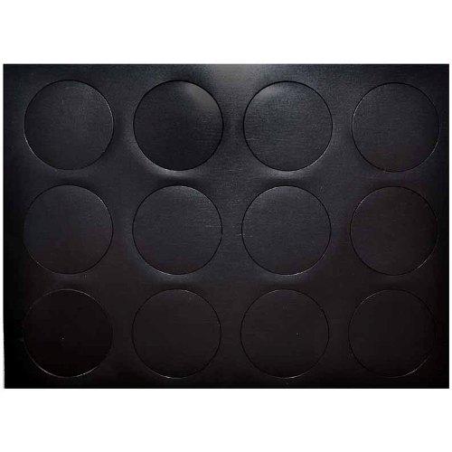 ВМ001 Набор магнитиков на самоклеющейся основе №1 'Кружочки'