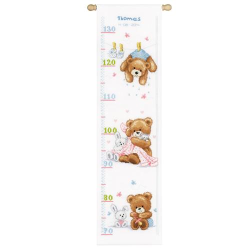 PN-0147440 Набор для вышивания Vervaco 'Милые медвежата' 18x70см
