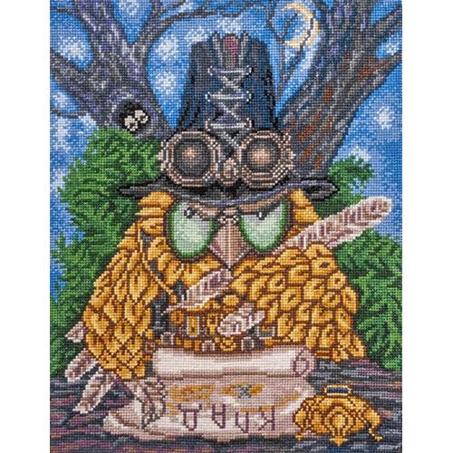 05.003 Набор для вышивания Палитра 'Кладоискатель', по мотивам картины Ирины Куприяновой' 21*27см