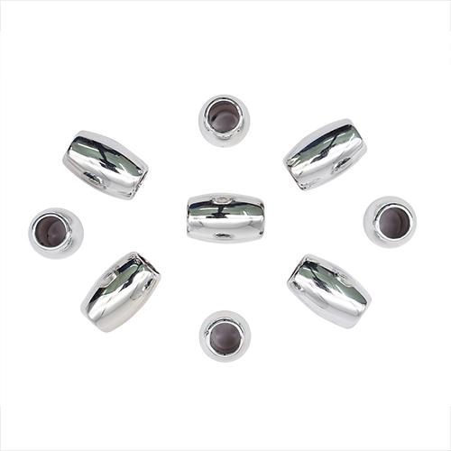 4189 Бусины под металл гладкие, 15*10 мм, упак./15 шт., 'Астра'